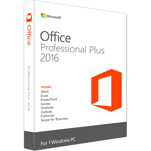 MS Office Pro Plus 2016 @microkeys.com