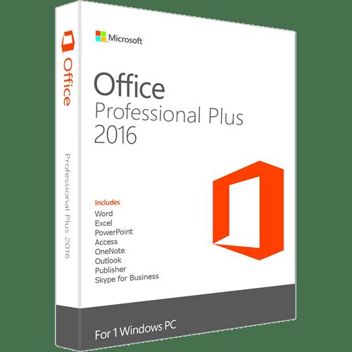 MS Office Pro Plus 2016 @microkeys.com