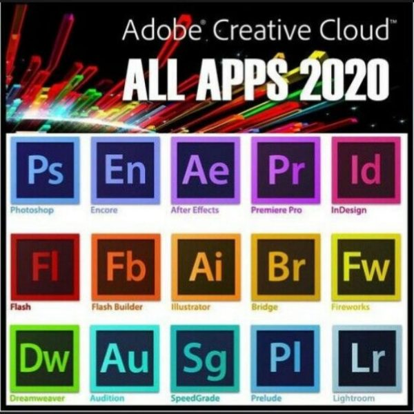 Adobe Creative Cloud All Apps MAC @microkeys.com