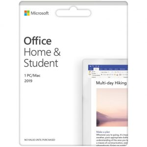 MICROSOFT Office Home & Student 2019 - Lifetime for 1 user key