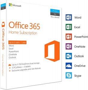 Microsoft Office 365 Home key